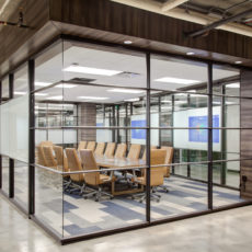 Glass conference room for modern tech company in Utah Thumbnail