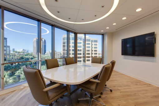 Small modern meeting room furniture in Las Vegas office