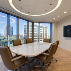 Small modern meeting room furniture in Las Vegas office Thumbnail