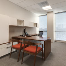 Private office casegoods and furniture for Las Vegas office Thumbnail