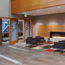 Cozy lounge furniture in Salt Lake City office space Thumbnail