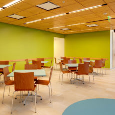 Cafe furniture for higher education at Utah State University Thumbnail