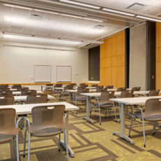 Classroom furniture for higher education at Utah State University Thumbnail