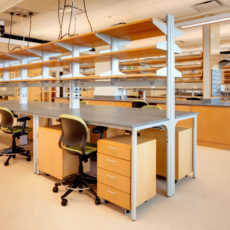 Standing height tall workstations for higher education at Utah State University Thumbnail