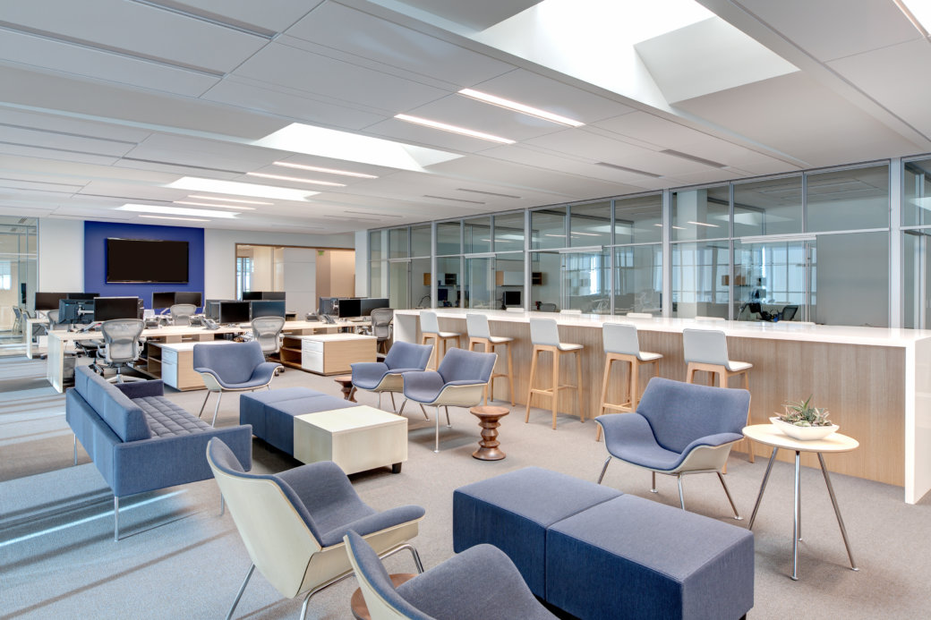 Cool mid-century office furniture and design in Utah